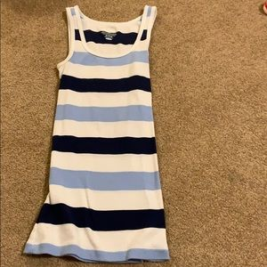 Striped tank (Blue)